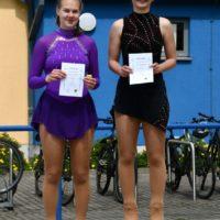 zwei Cup-Läuferinnen