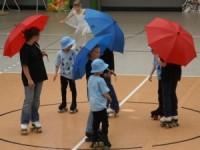 Unsere Jüngsten als Regentropfen