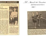 SZ-Zeitungsartikel 1961
