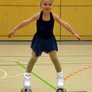 Maralie im Wettbewerb der Mini-Zwerge