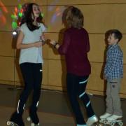 tanzen auf Rollschuhen