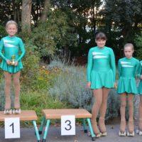 Freiläufer 1 Mädchen bei der Pflicht: Clara siegt