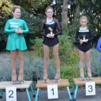 Siegerehrung Pflicht Figurenläufer Mädchen