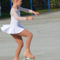 Josephine bei der Pirouette