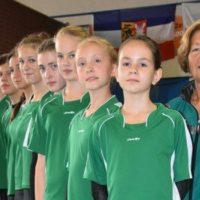 Sächsische Mannschaft beim DNP 2016