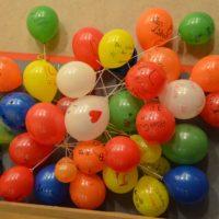 persönliche Widmung pro Ballon
