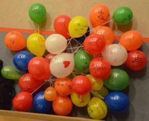 viele Luftballons