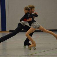 Paarlaufpirouette von Leonie und Nicolas