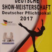 Plakat DM Show und Pflichtpokal 2017