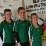 drei Sportler