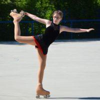 Katharina mit Platz 2 bei den Figurenläuferinnen