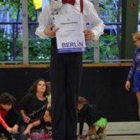erster Schüler D – Wettkampf für Florian