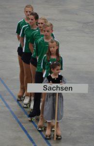 eine Gruppe Sportler