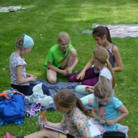 Picknick in den Pausen