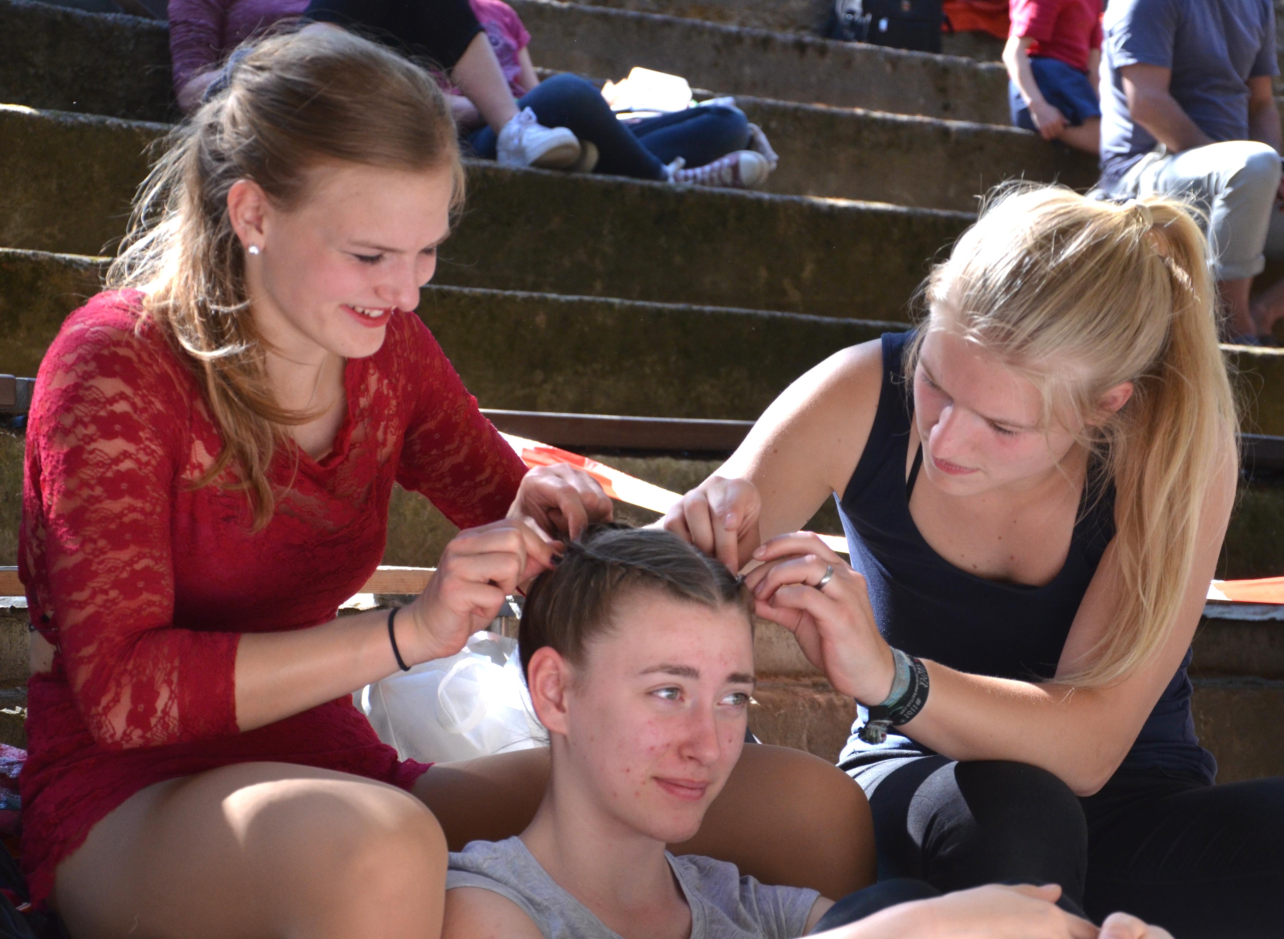 was würden wir nur ohne unsere Haar-Feen tun
