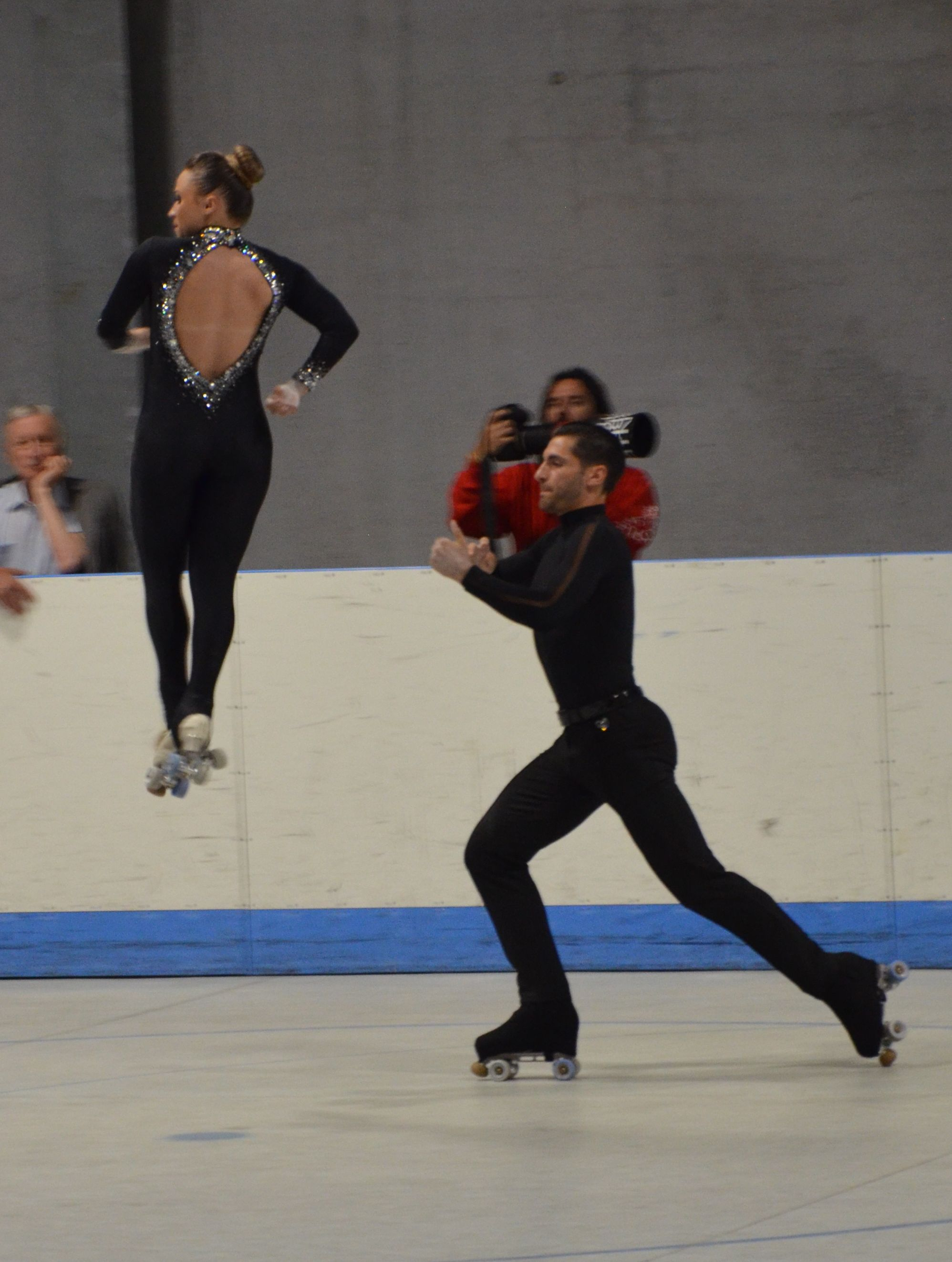 Rebecca Tarlazzi und Luca Lucaroni