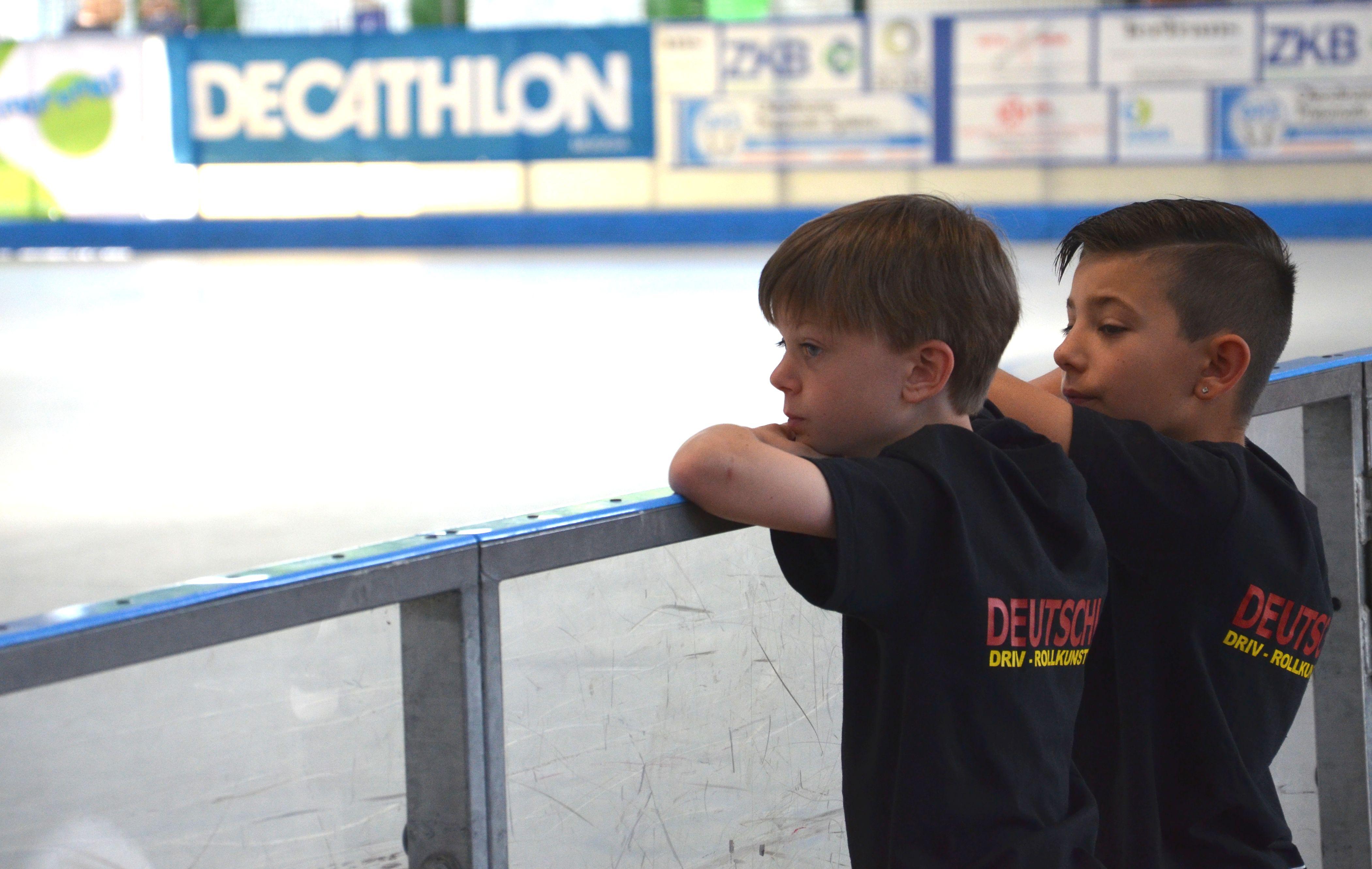 unsere Minis – Schüler C – Max und Tiziano