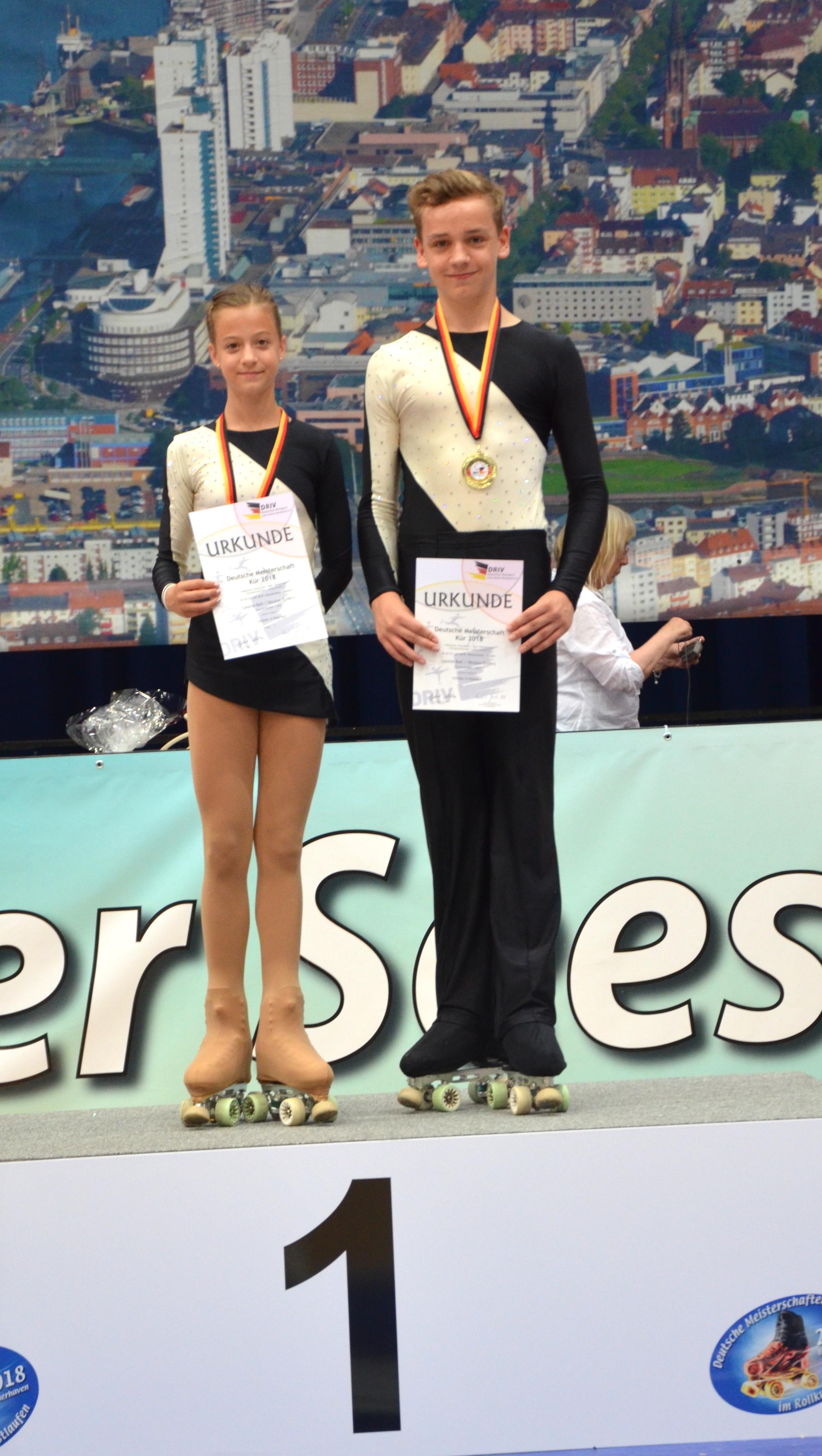 Sieger Schüler A Paarlauf