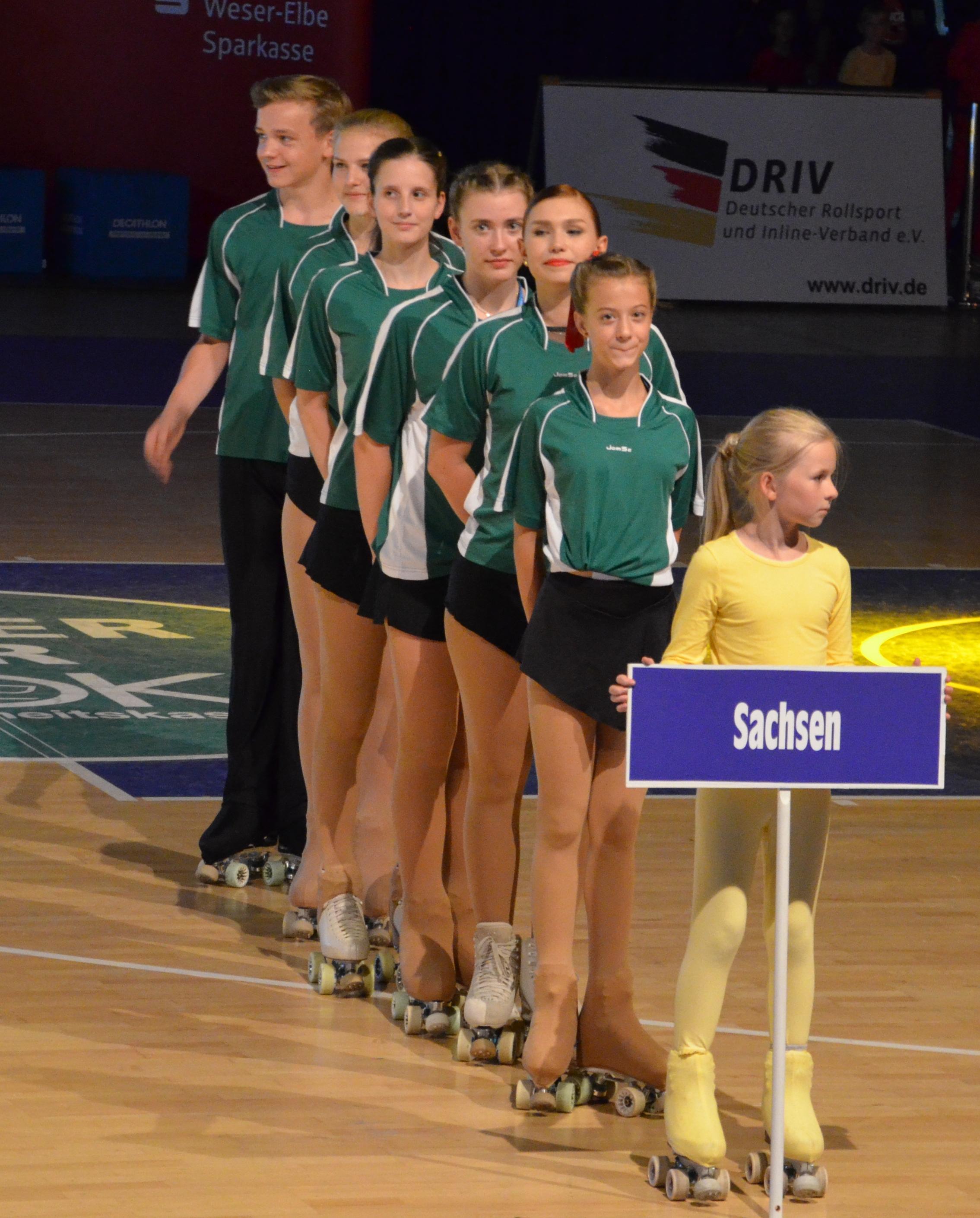 Team Sachsen bei den Deutschen Meisterschaften 2018