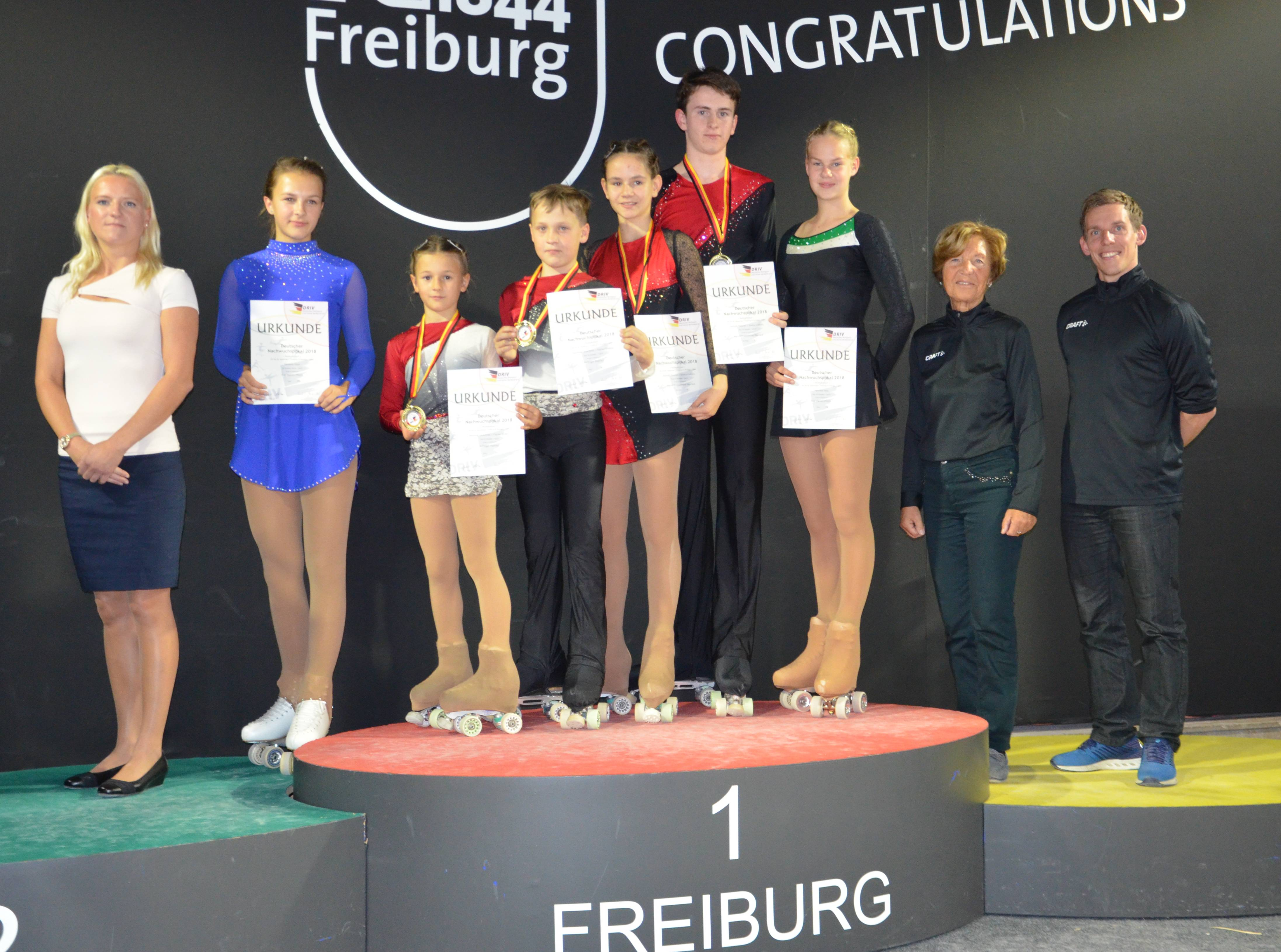 Team Sachsen im Breisgau