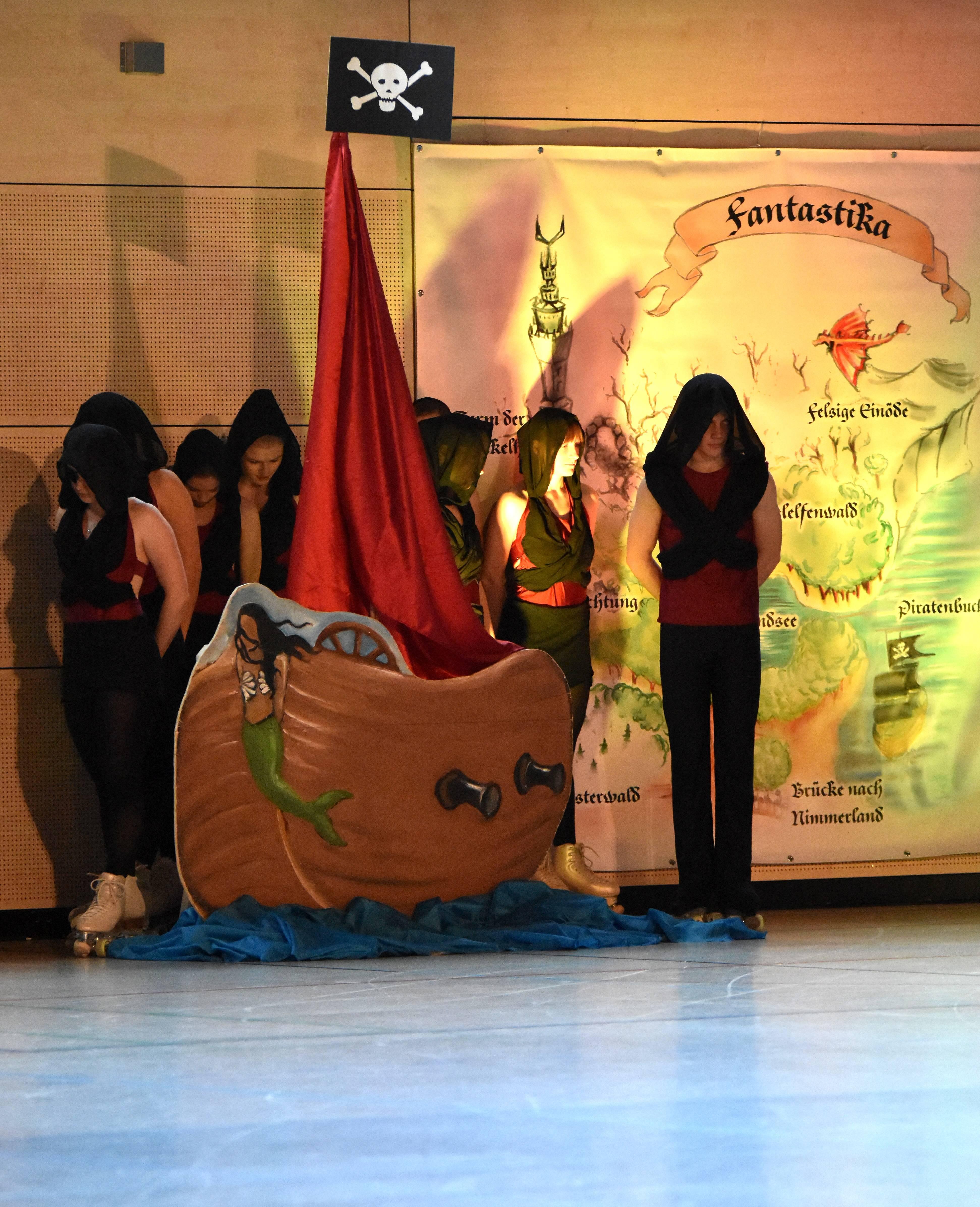 die Piraten und ihr Schiff