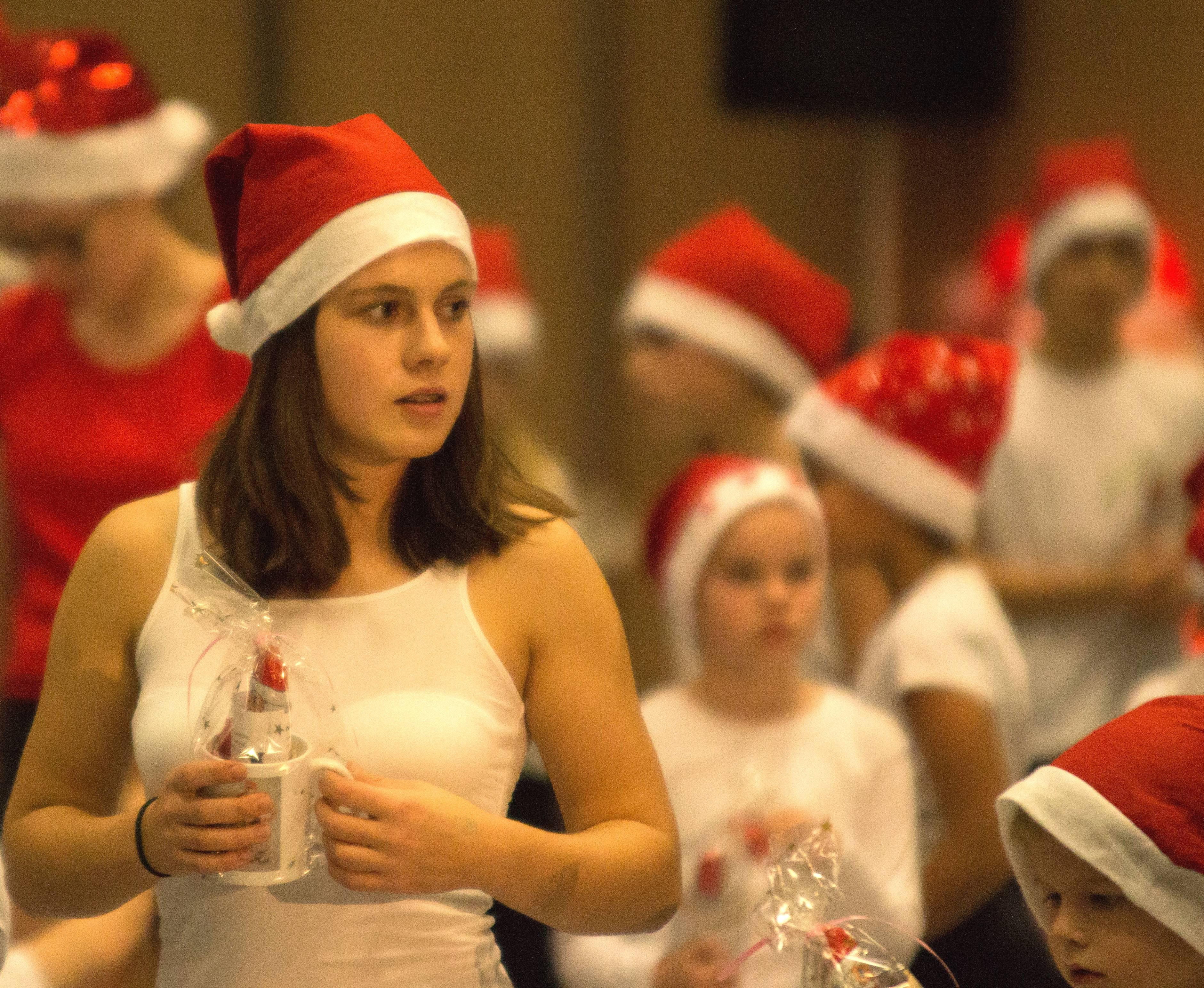Luisa mit roter Mütze