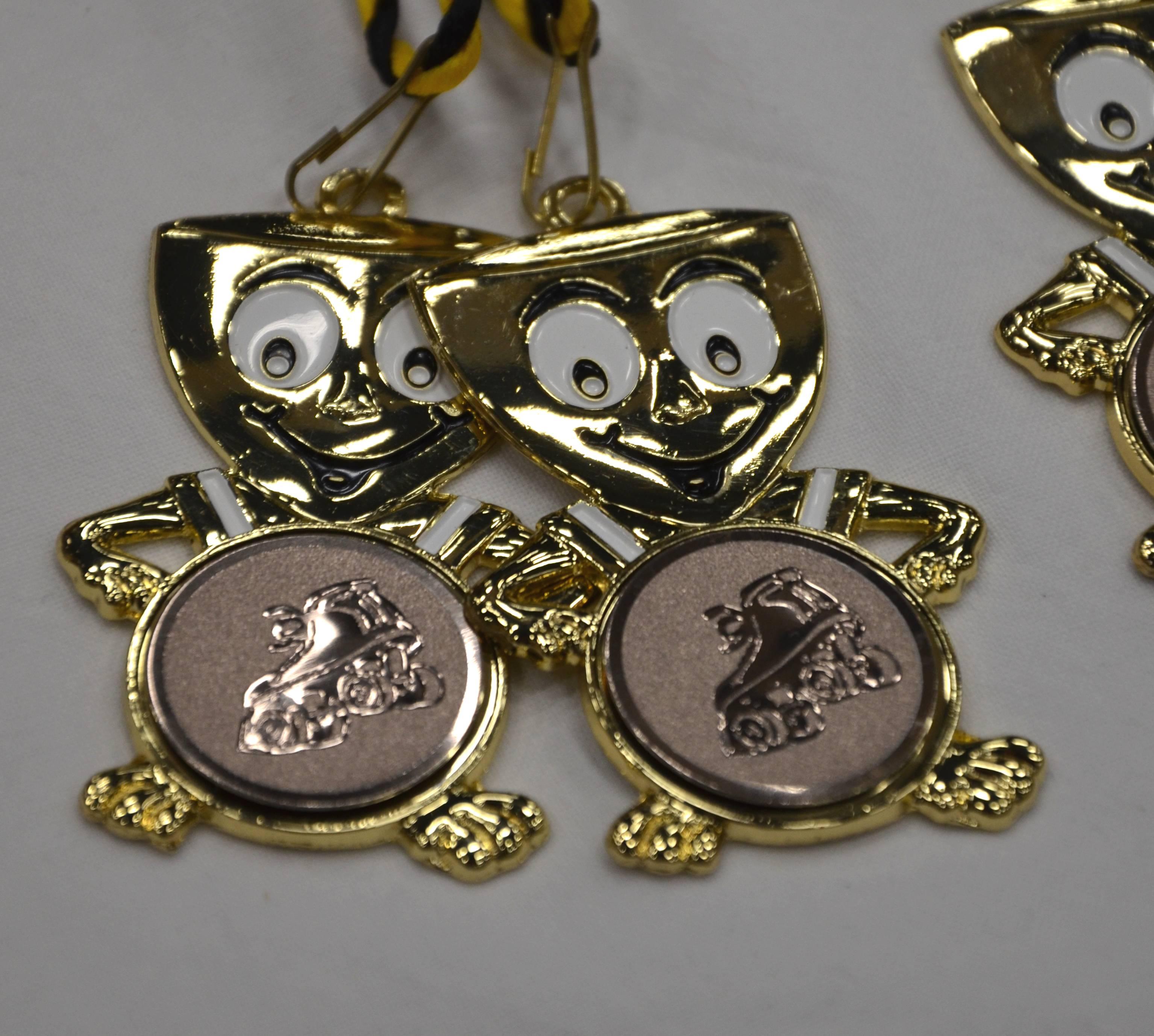 fröhliche Medaillen