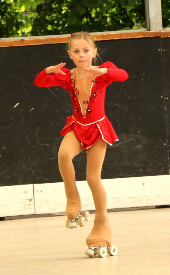 Anna in der Pirouette