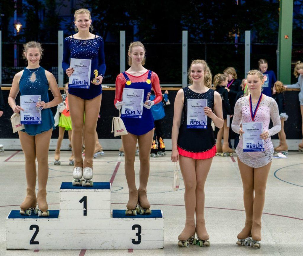 Siegerehrung Meisterklasse Damen