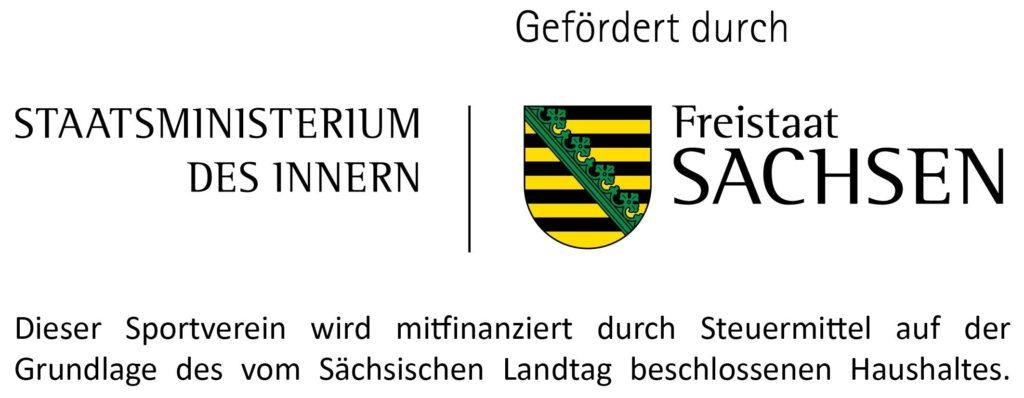 Logo Staatsministerium des Innern , Freistaat Sachsen