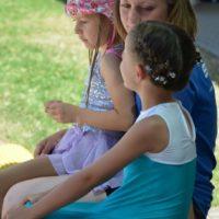 Jasmin mit Filippa und Maya