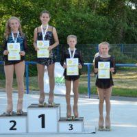 Nachwuchs-Klasse-Läuferinnen