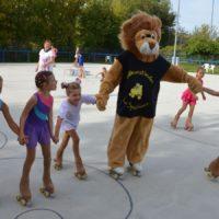 Spaß mit Löwe